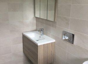 Corner Sink Small Bathroom