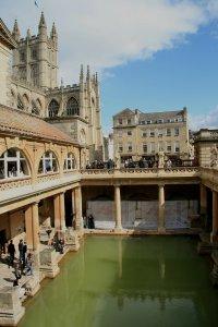 Roman baths, Bath England