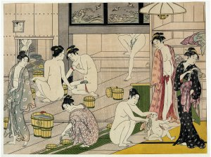 Medieval Japanese Baths