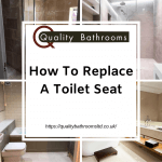 how to fit a new toilet seat